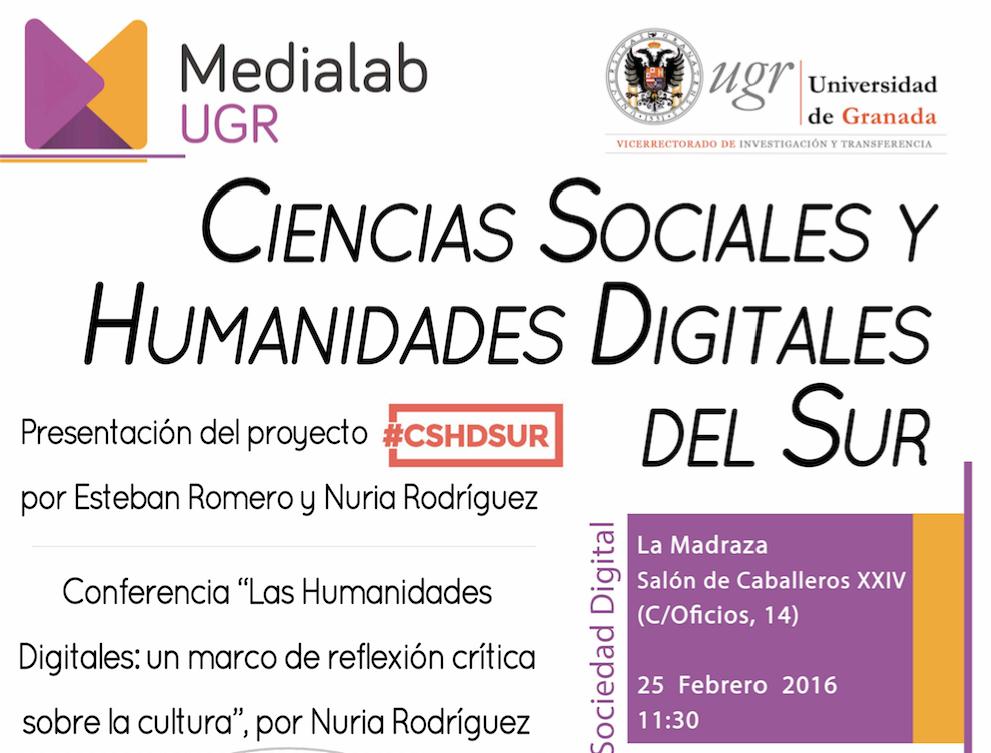 Las Humanidades Digitales: un marco de reflexión crítica sobre la cultura