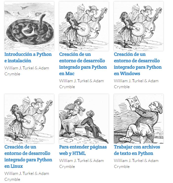 The Programming Historian en español: recurso para investigadores humanistas