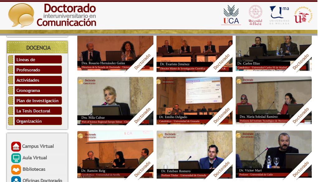 Medialab en las IV Jornadas de Estudios Doctorales