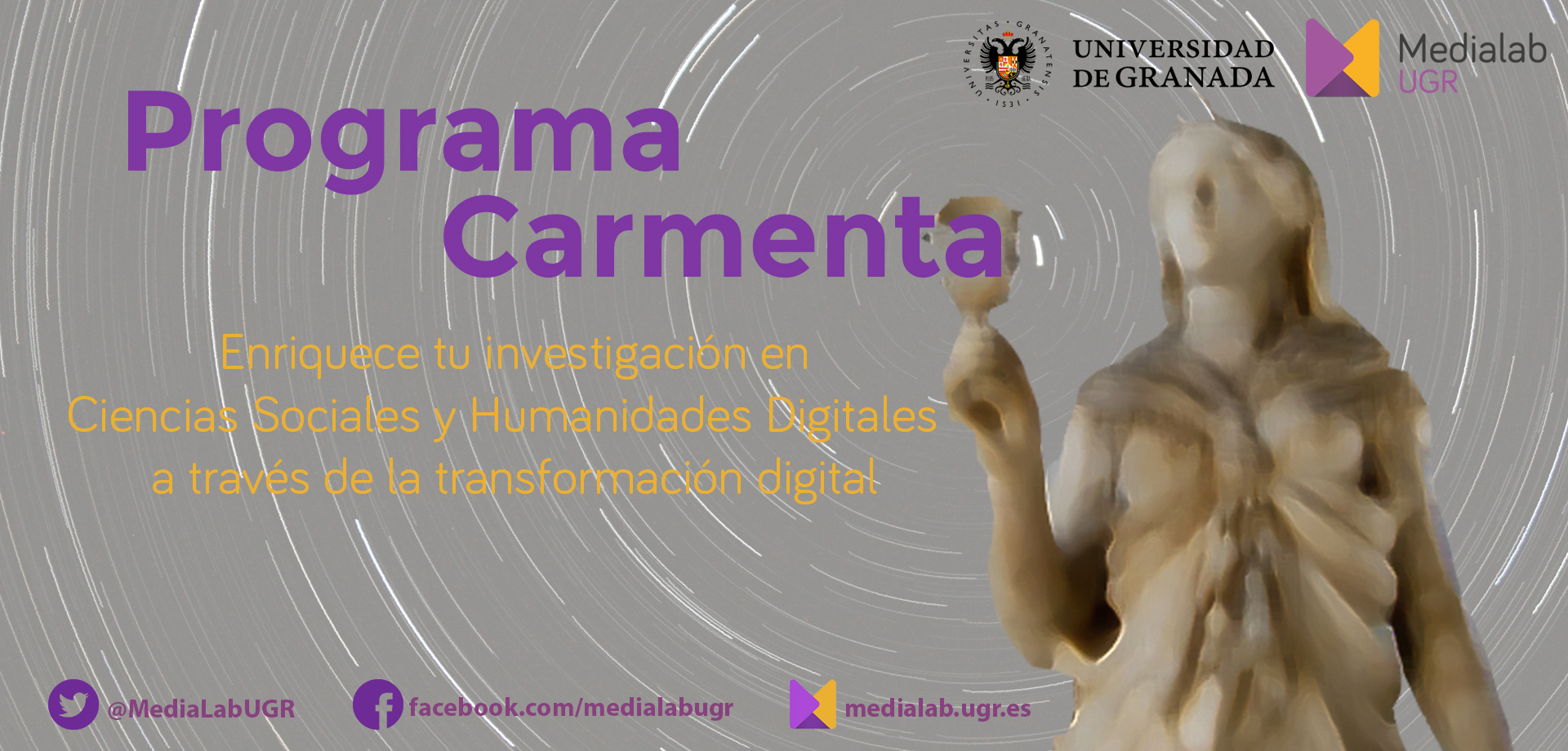 Programa Carmenta – Enriquece tu investigación a través de la transformación digital