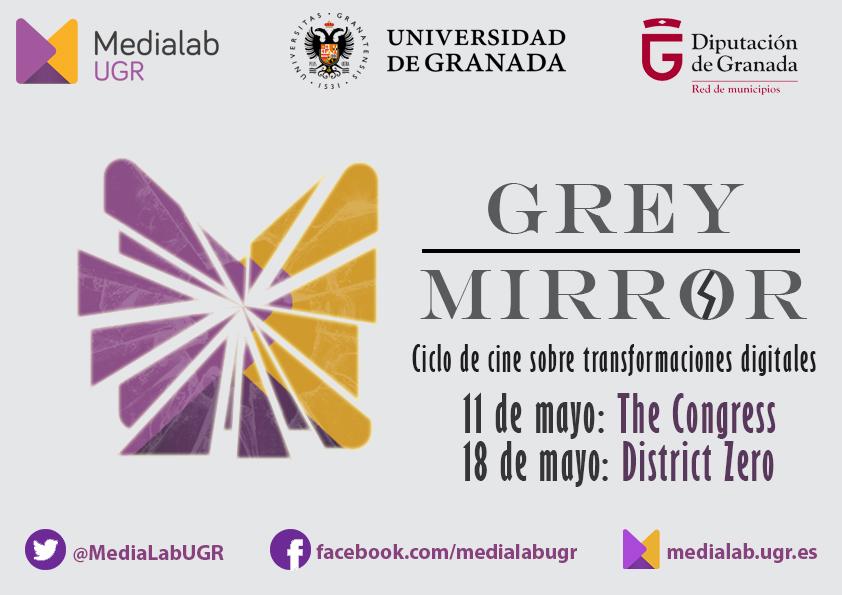"""Ciclo de Cine """"Grey Mirror"""": el """"espejo gris"""" de la tecnología"""