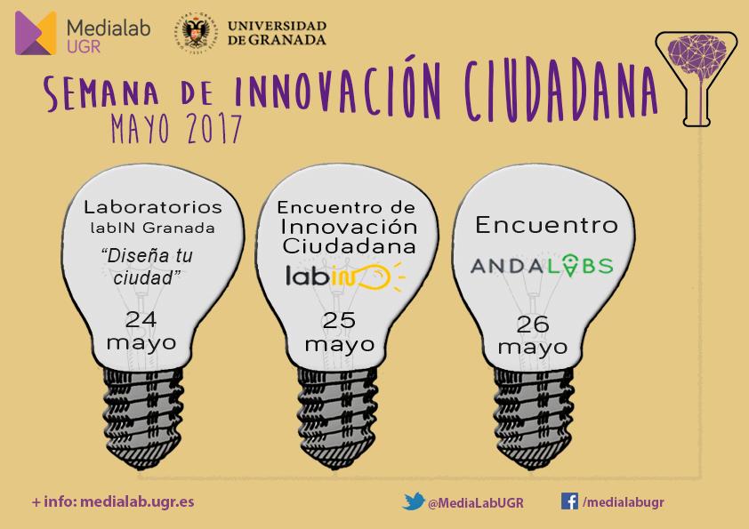 Cartel Semana Innovación Ciudadana 2017