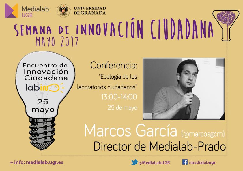 marcosgarcia - Conferencia en Semana Innovación Ciudadana