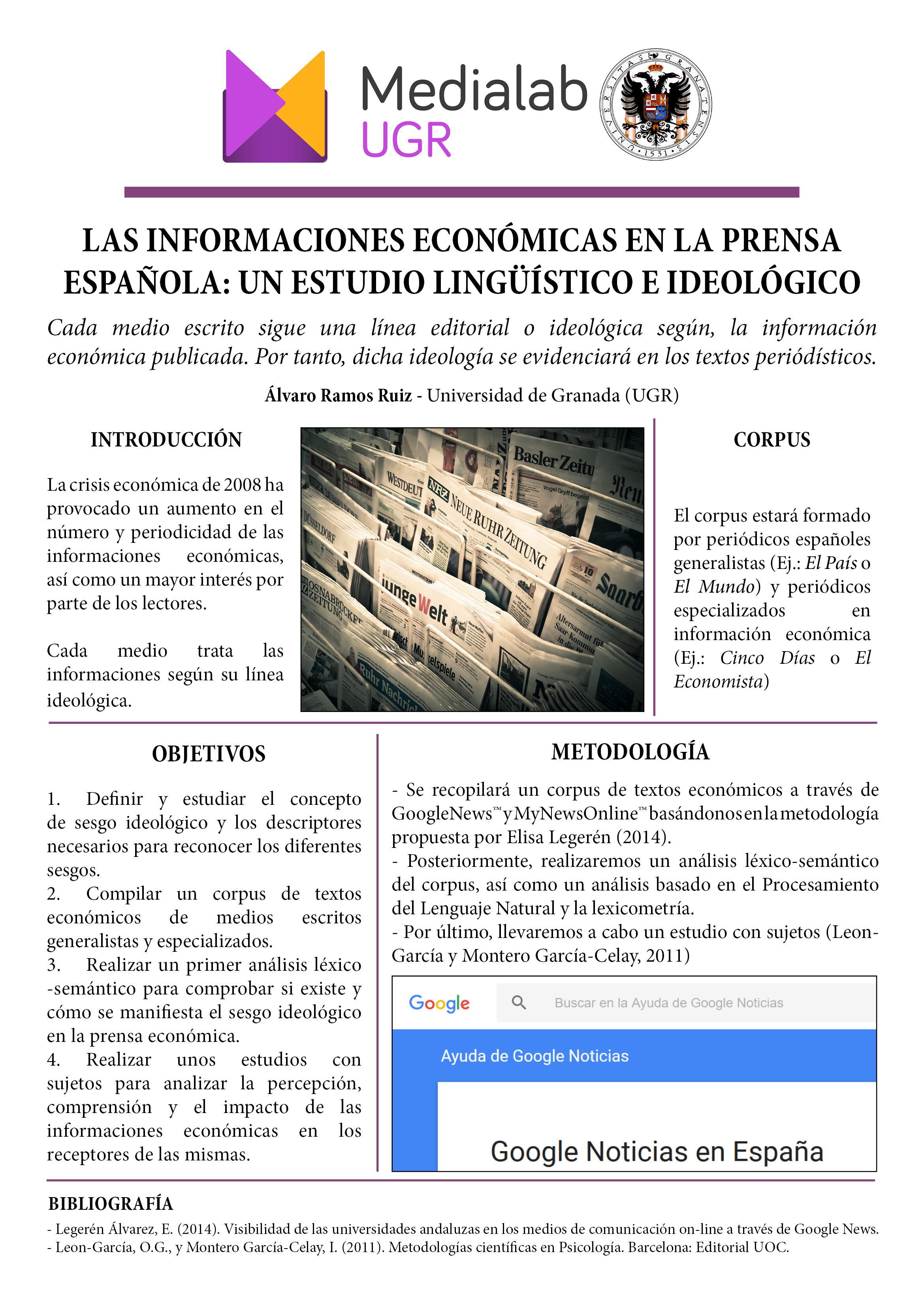Las informaciones económicas en la prensa española: un estudio lingüístico e ideológico