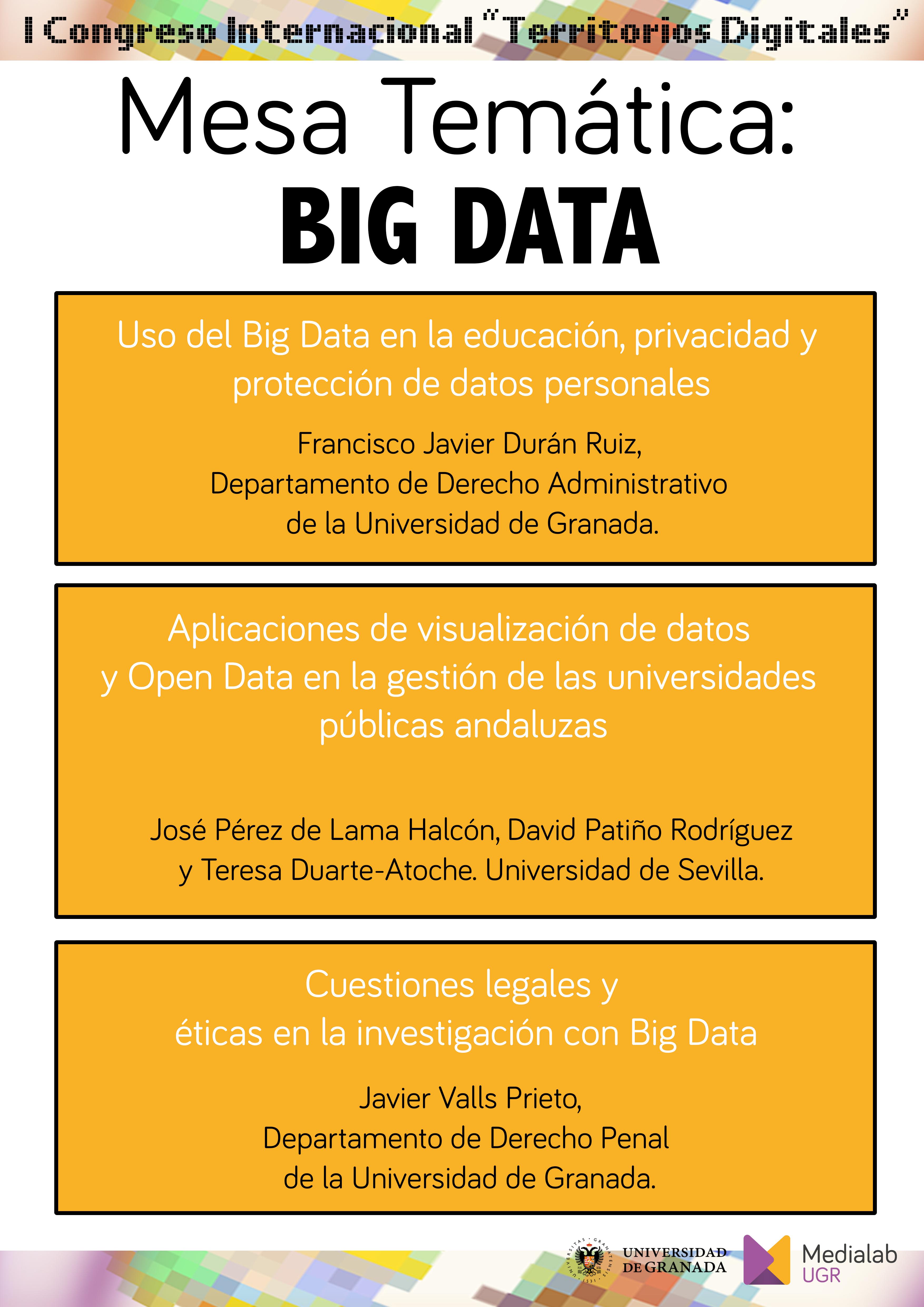Aplicaciones de visualización de datos y open data en la gestión de las universidades públicas andaluzas
