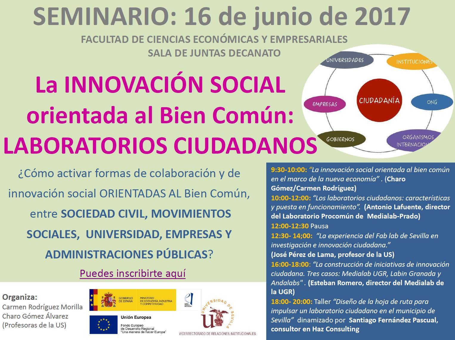 Seminario Laboratorios Ciudadanos - Sevilla