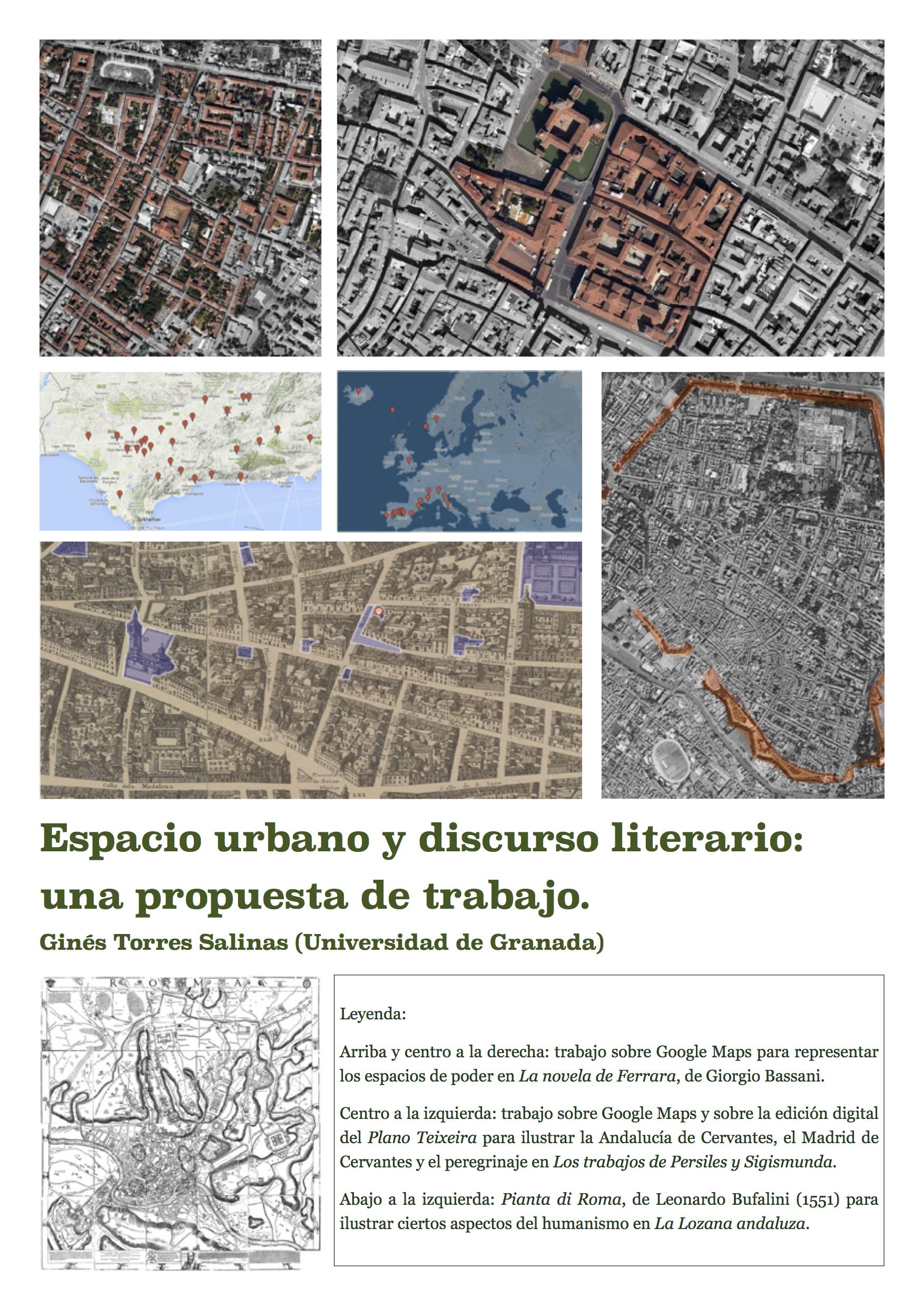Espacio urbano y discurso literario. Una propuesta de trabajo
