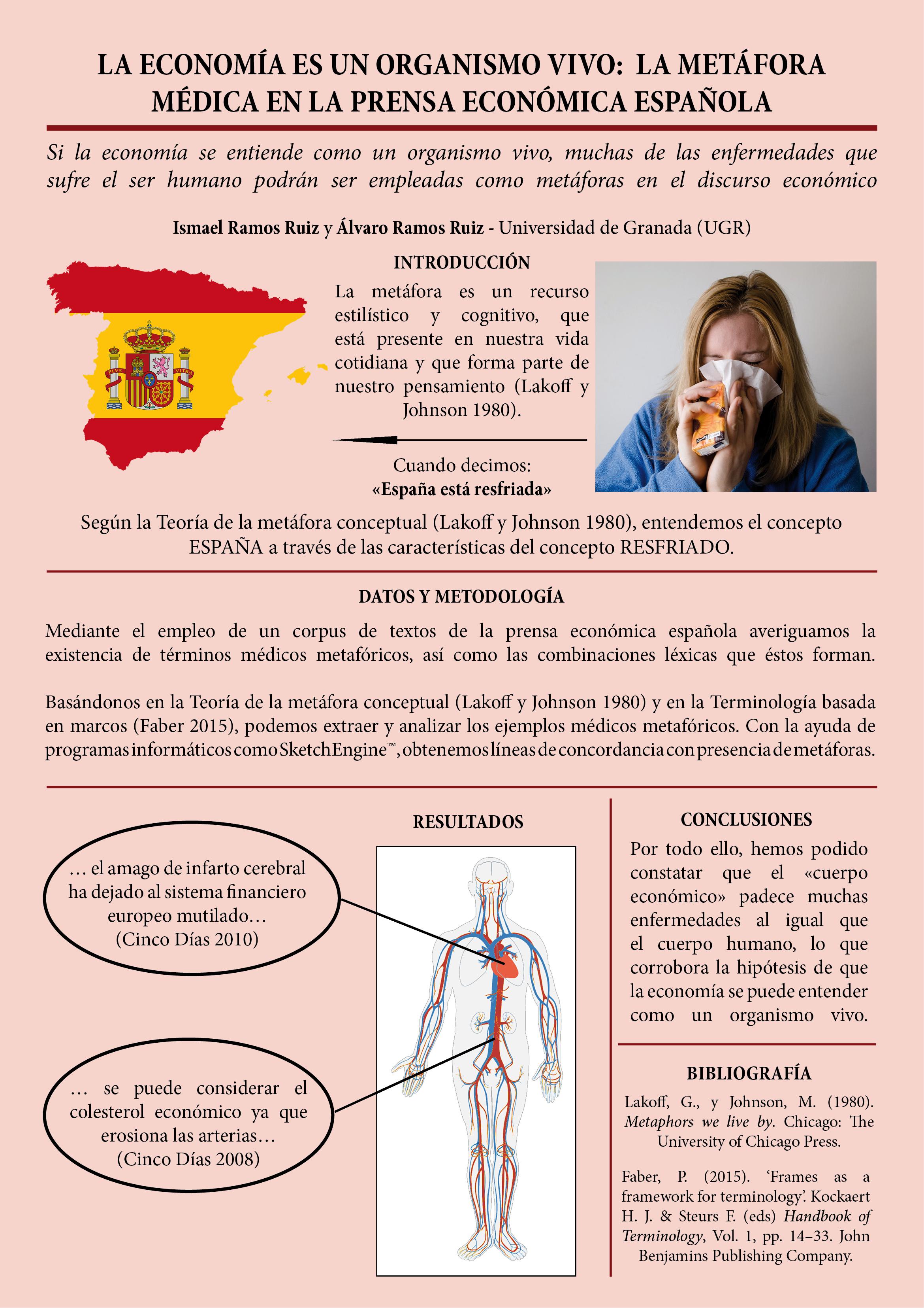 La economía es un organismo vivo: la metáfora médica en la prensa económica española