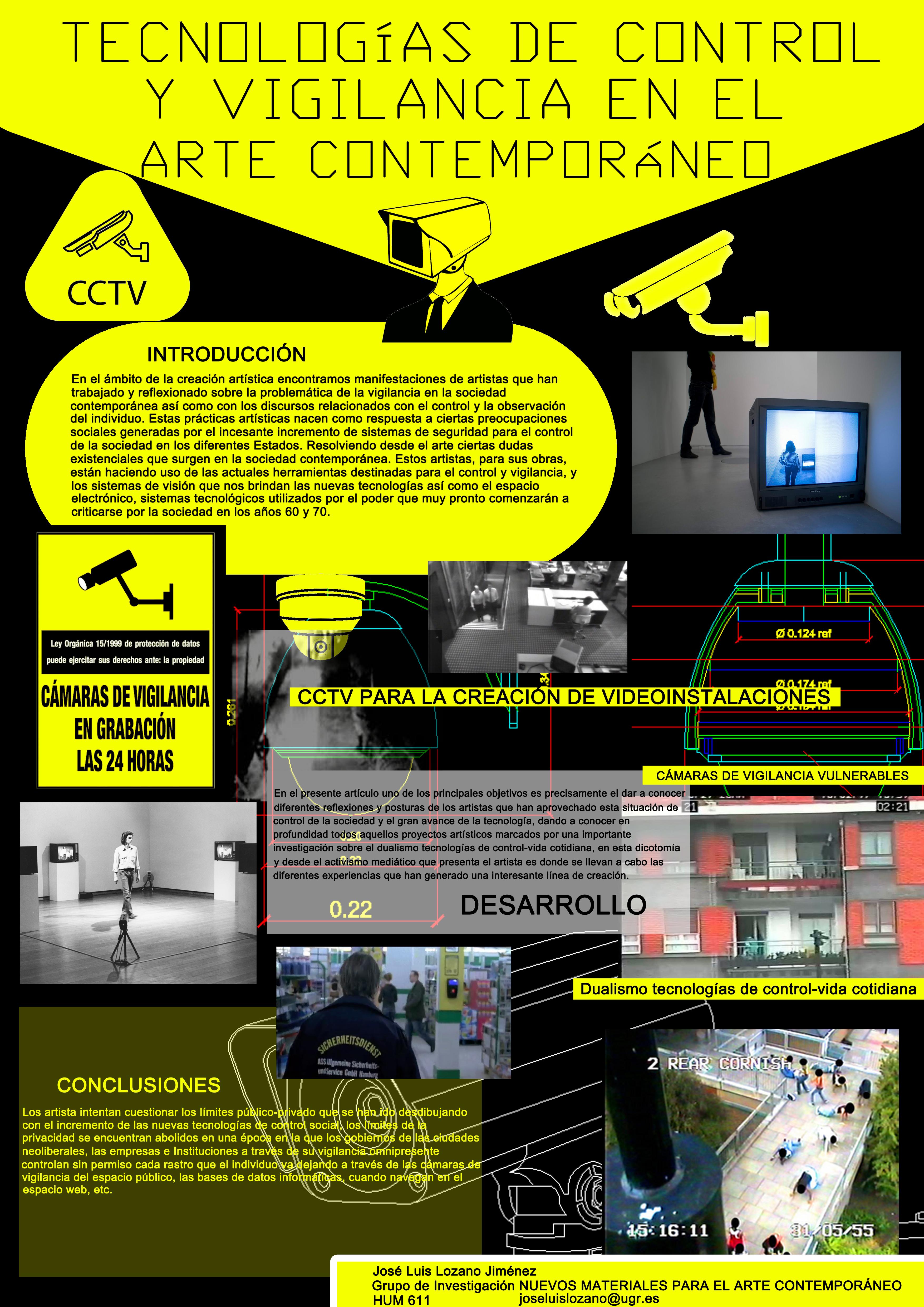 Tecnologías de control y vigilancia en el Arte Contemporáneo