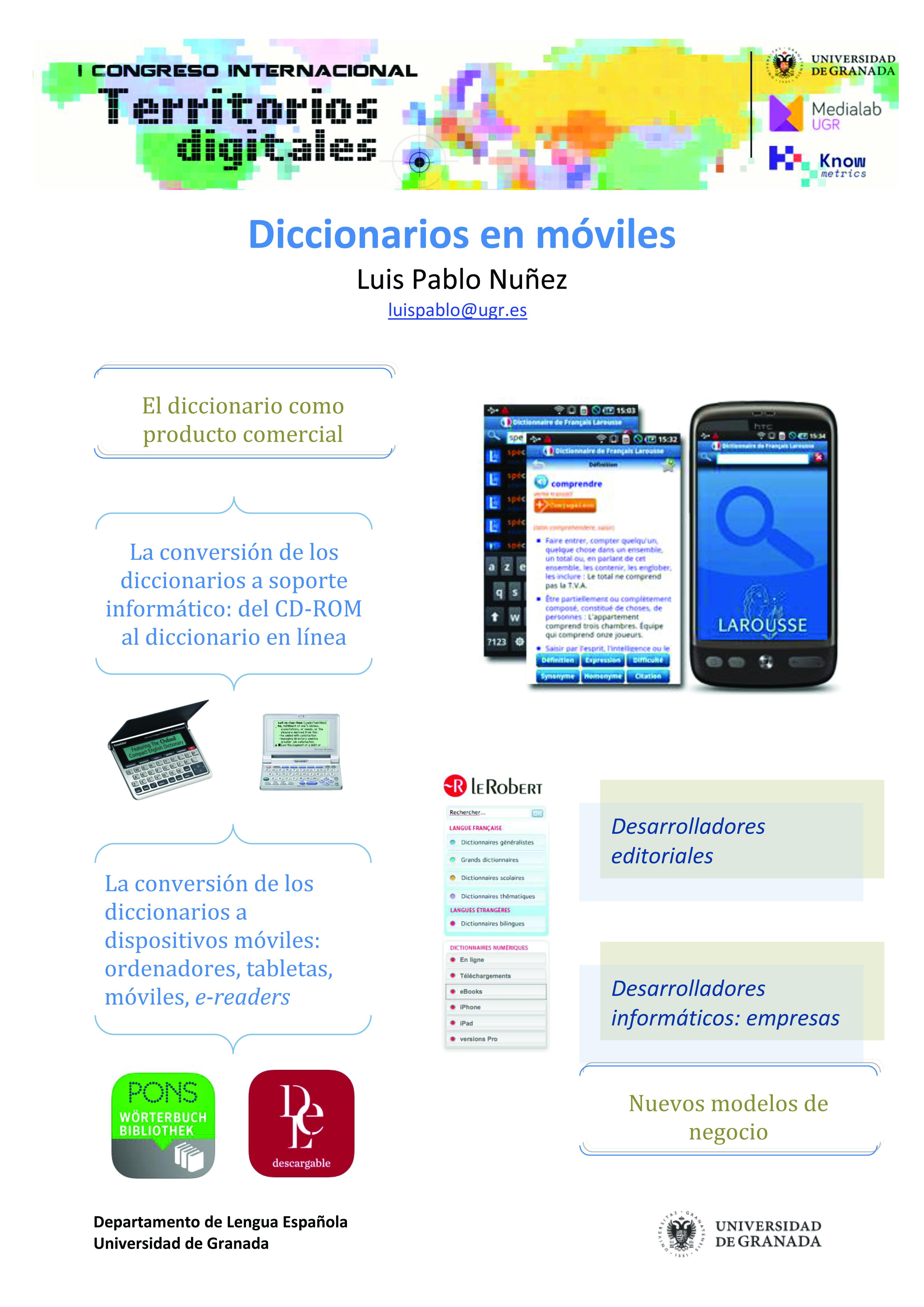 Diccionarios en móviles