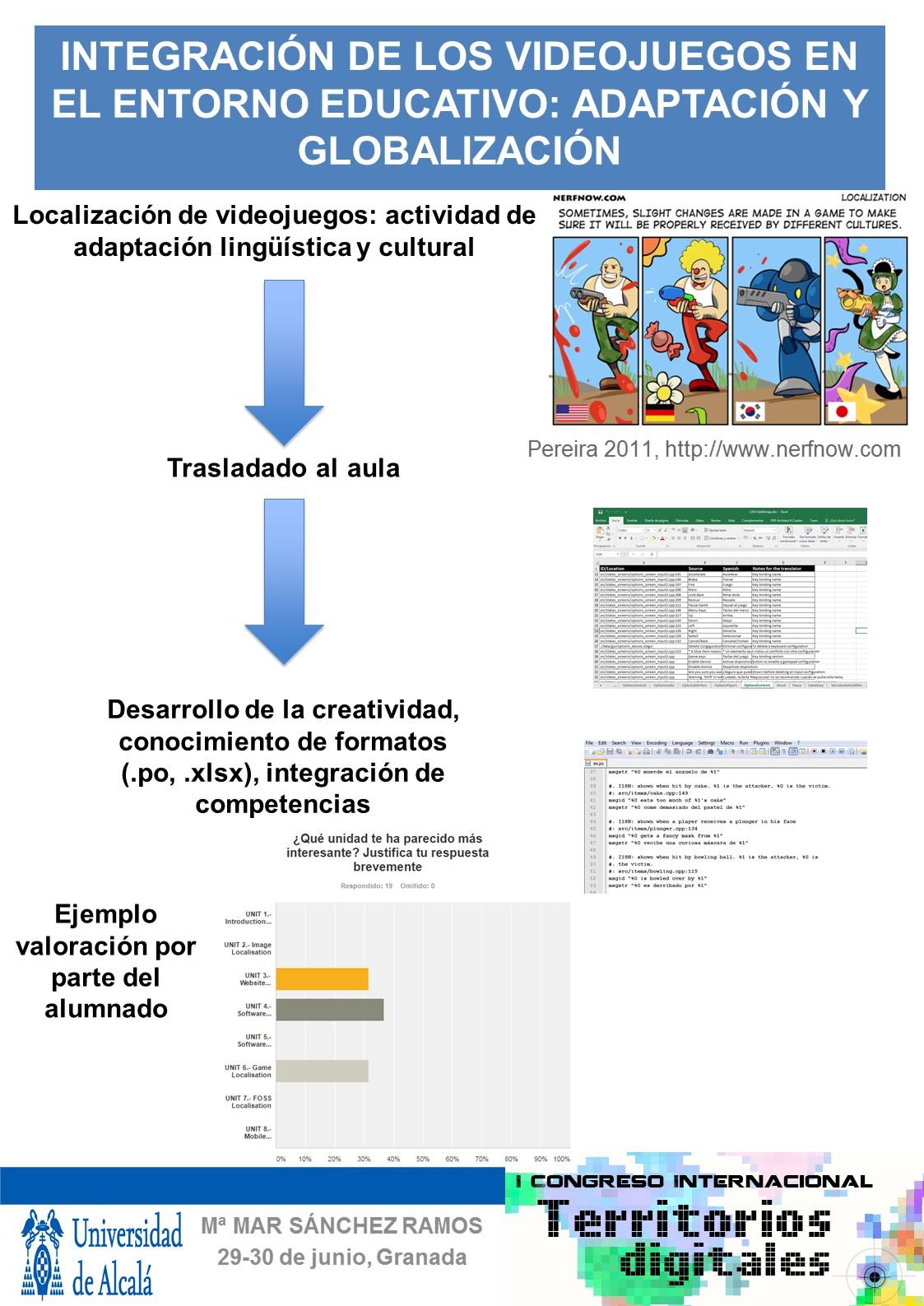 Integración de los videojuegos en el entorno educativo: adaptación y globalización
