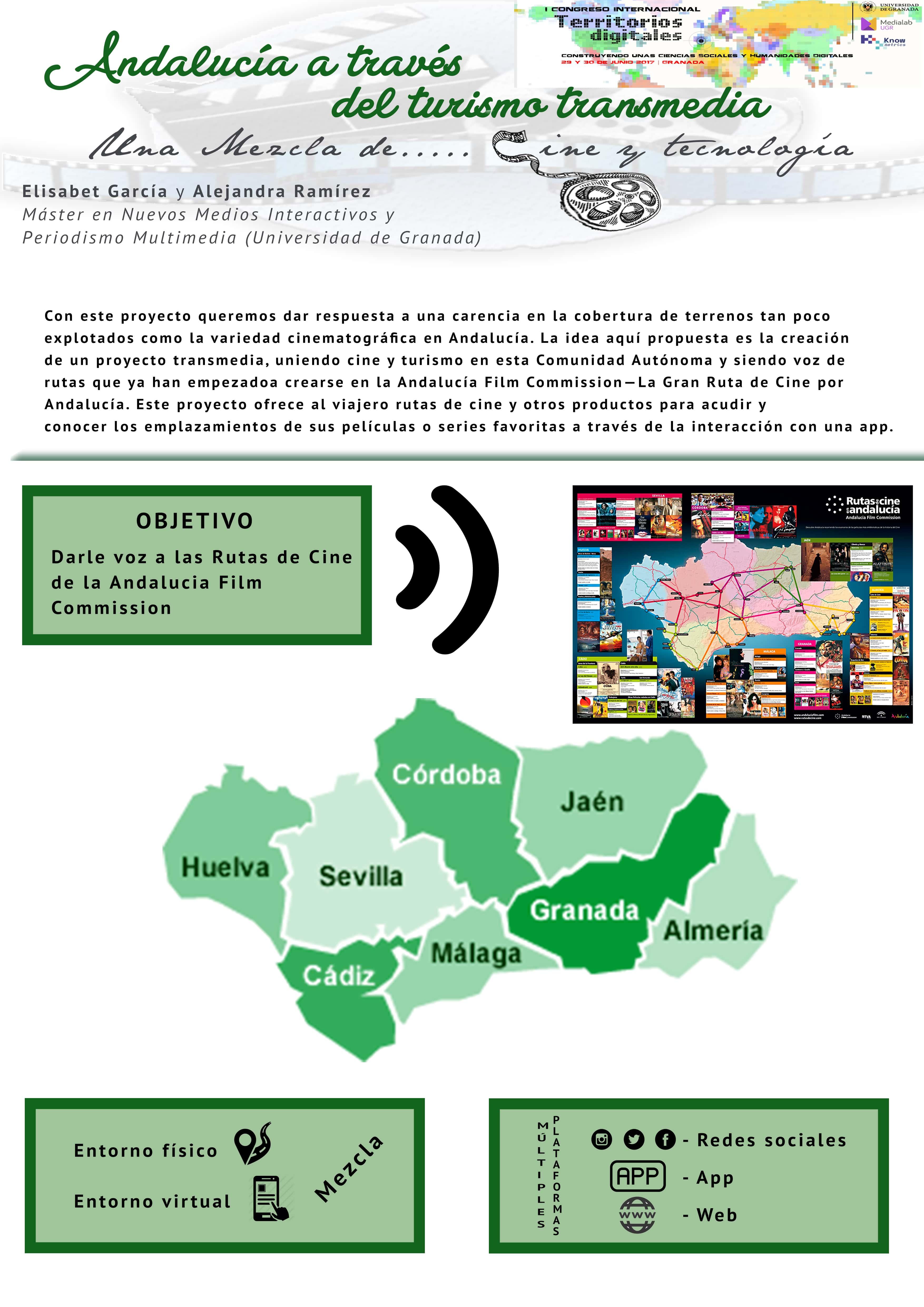 Andalucía a través del turismo transmedia