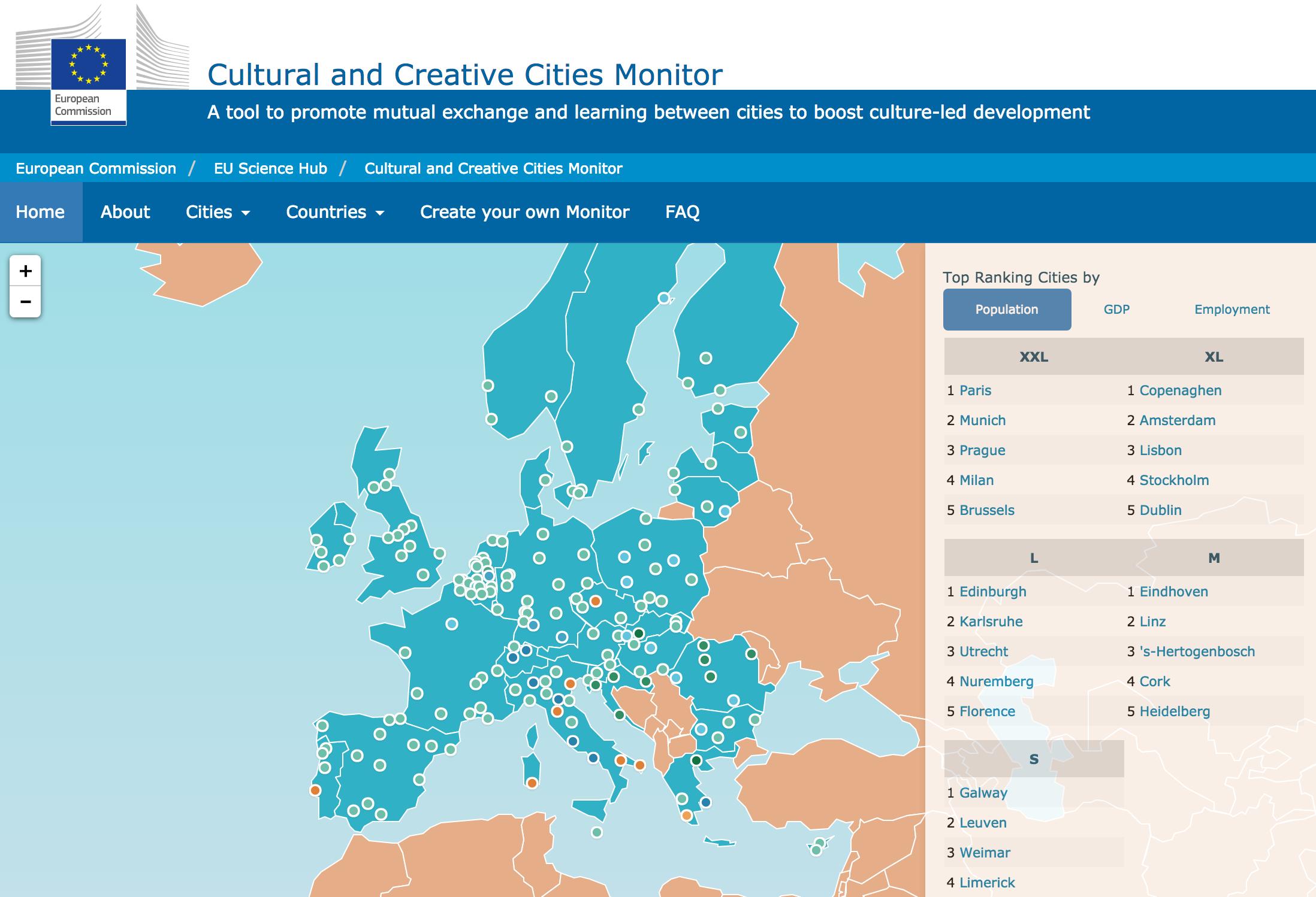 Granada, ciudad de la cultura. ¿Cómo nos ven desde Europa? Diagnóstico y propuestas
