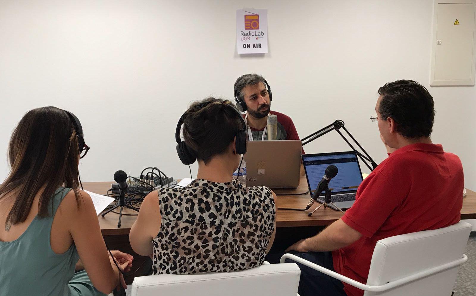 Fiesta de fin de curso en Radiolab UGR