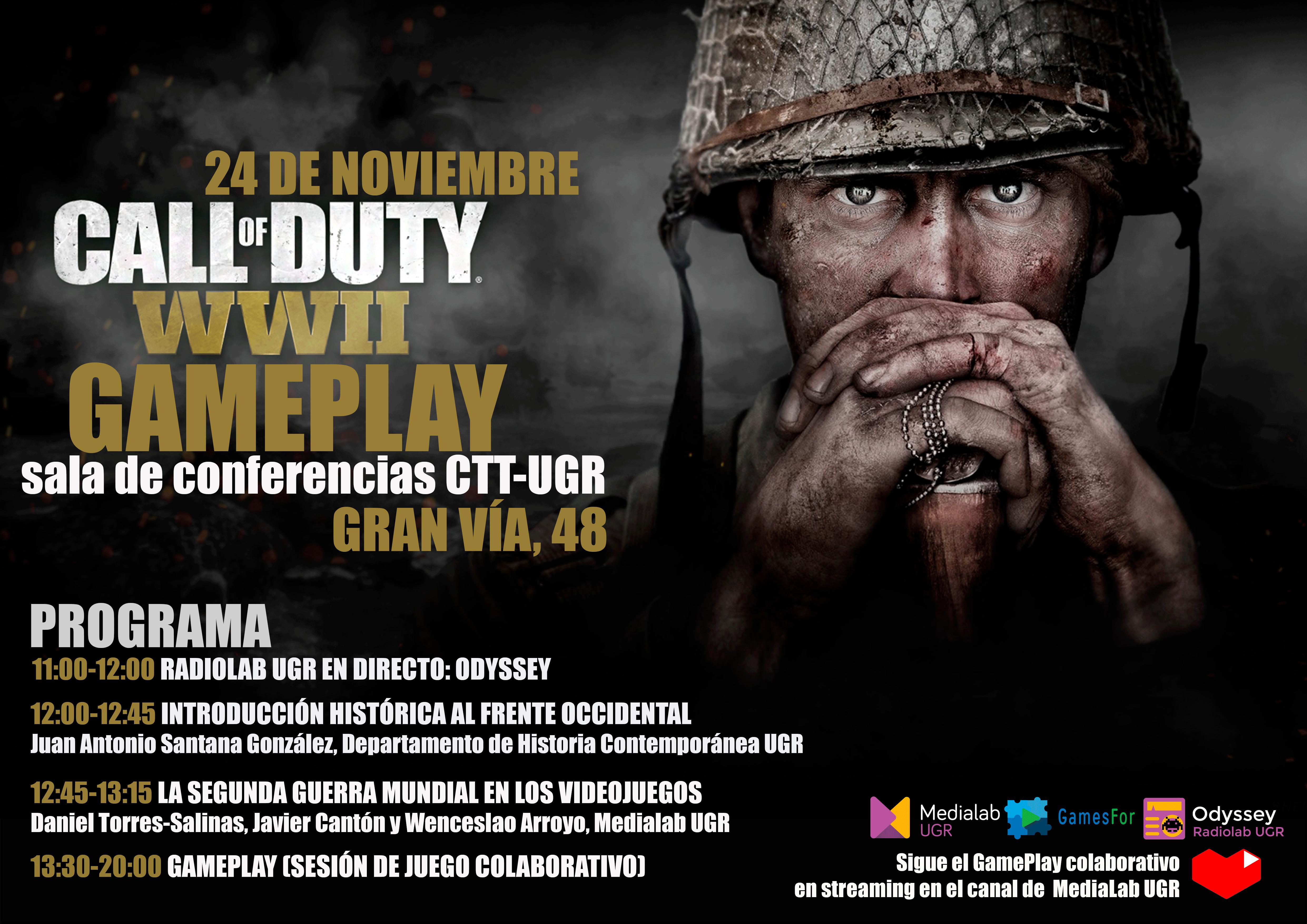 ¿Jugar al Call of Duty en el Vicerrectorado? Es posible con GamesFor