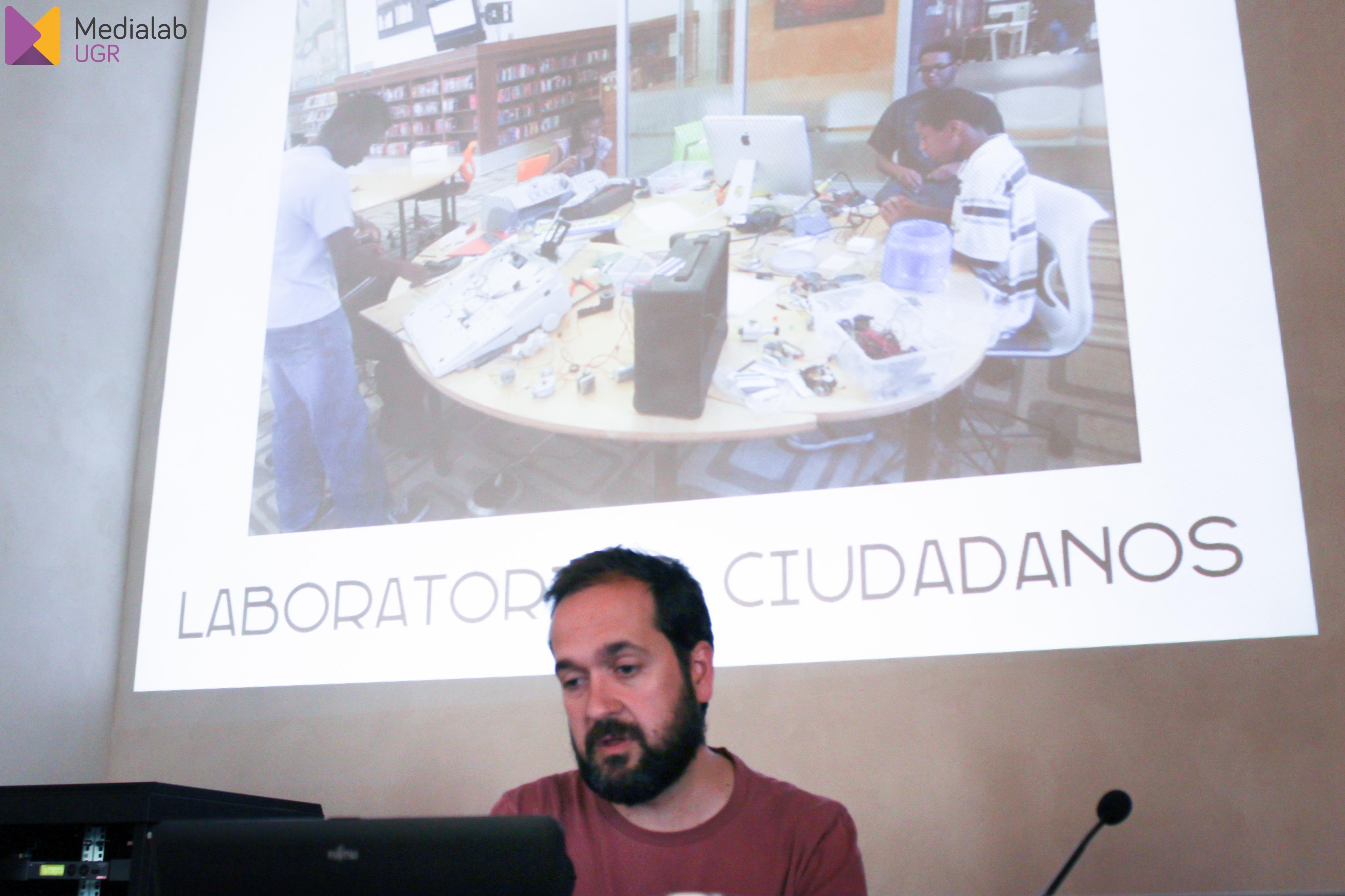 """Escucha a Marcos García, director de MediaLab Prado, dentro de la """"Semana de Innovación Ciudadana 2017"""""""