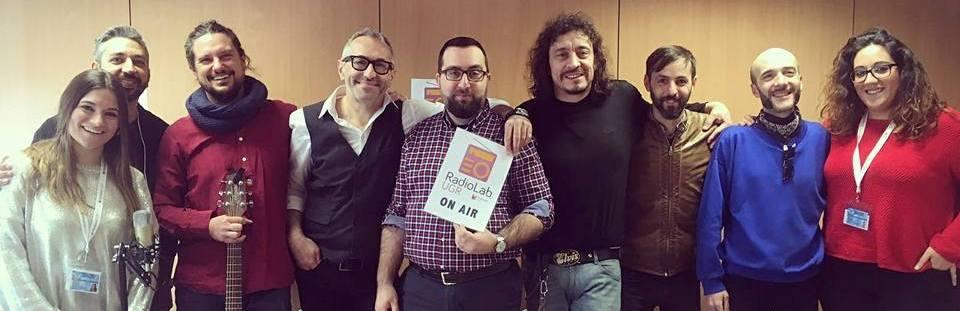 Doblas, un histórico del panorama musical granadino, visita Radiolab UGR