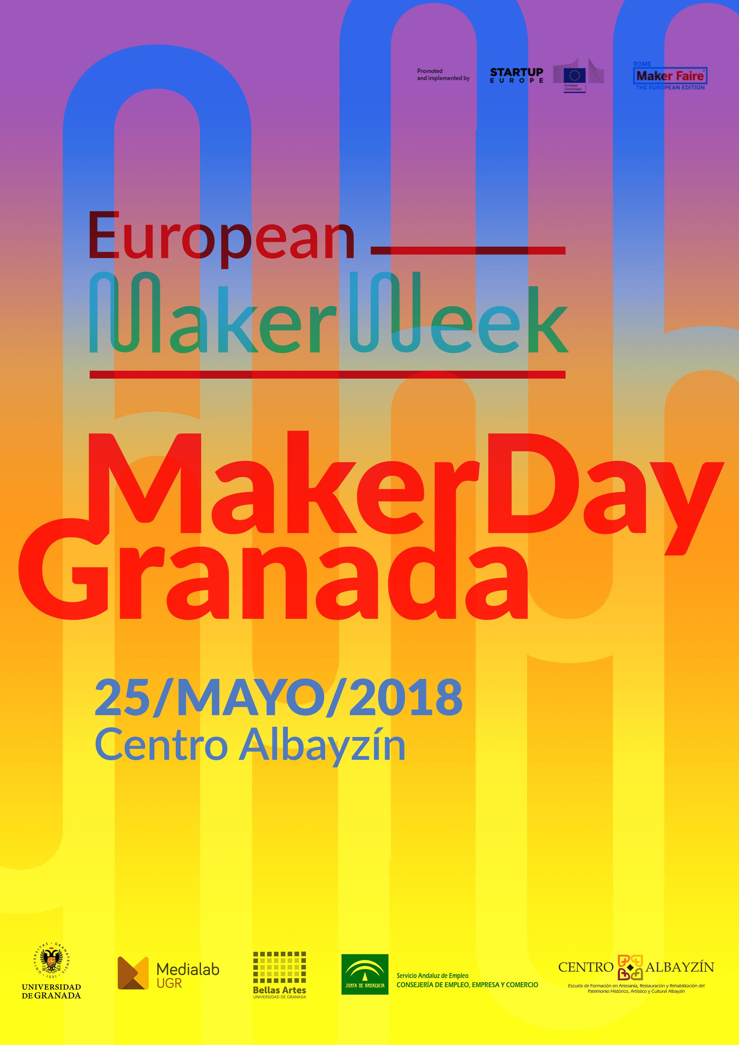 Makers y artesanos se reúnen en el Maker Day Granada 2018