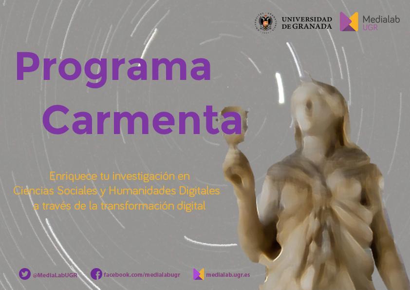 Programa Carmenta: enriquece tu investigación en Humanidades y Ciencias Sociales a través de la transformación digital