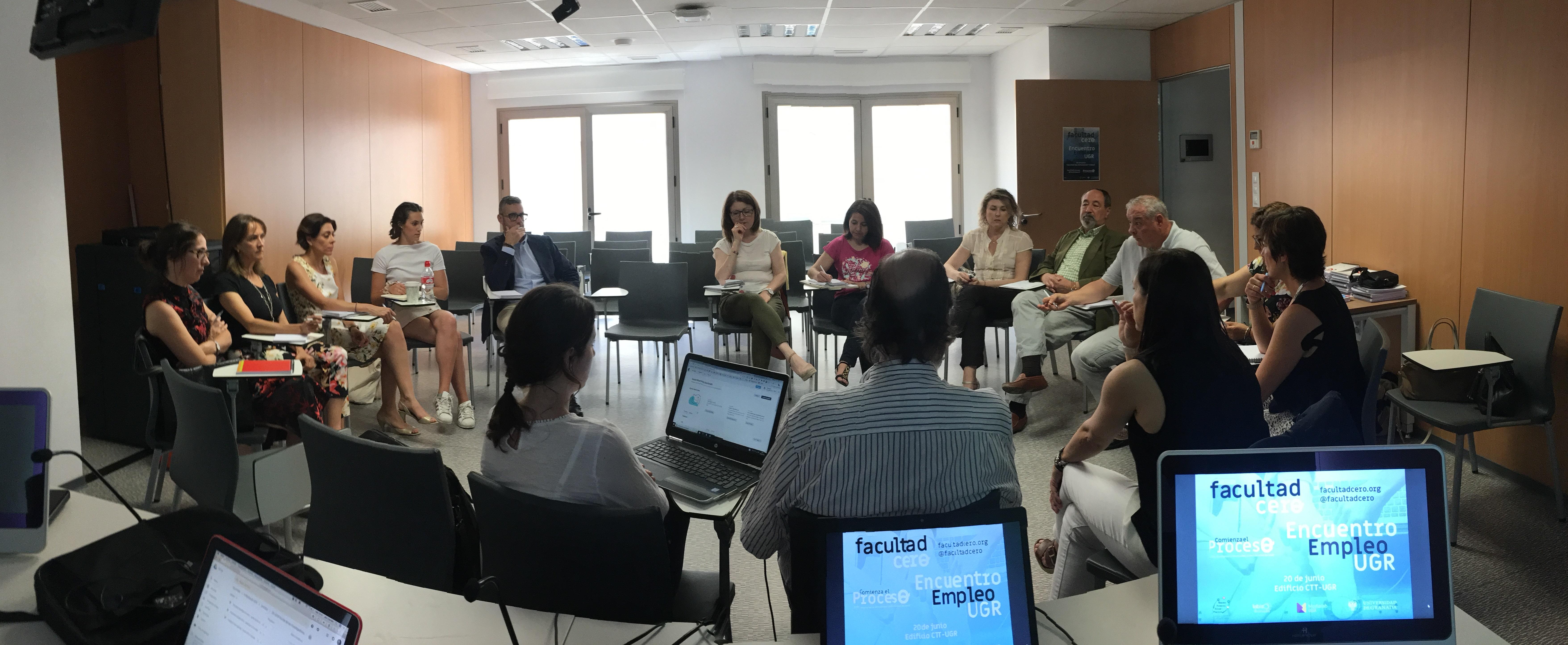 Crónica Encuentro Empleo/Empleabilidad UGR