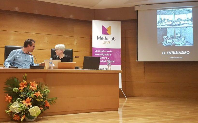 Reseña de las conferencias de Juan Martín Prada y Remedios Zafra