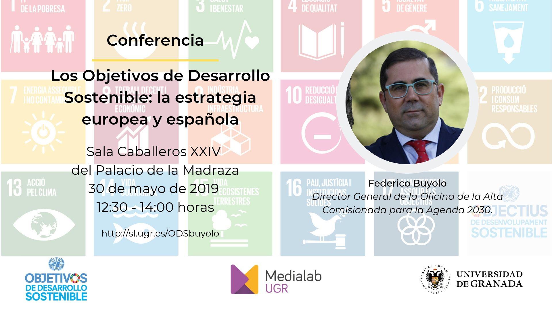 """Conferencia de Federico Buyolo """"Los Objetivos de Desarrollo Sostenible: la estrategia europea y española"""""""