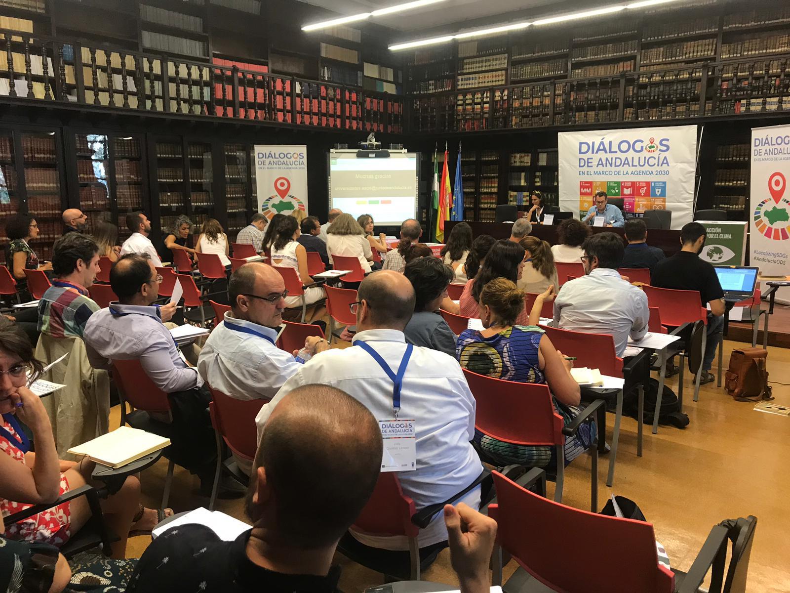 Redes y espacios de reflexión de las universidades andaluzas para la cooperación al desarrollo