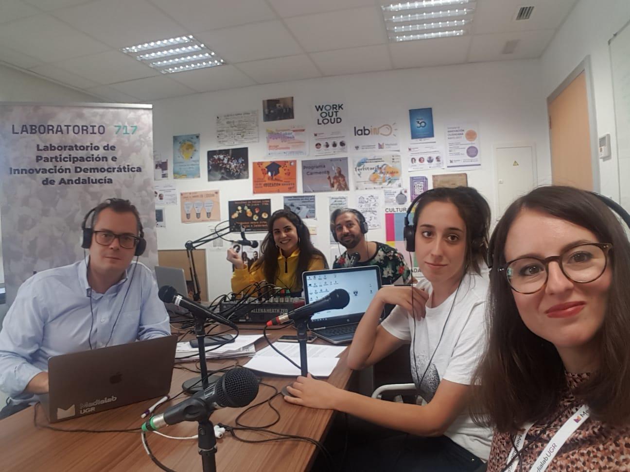 Vuelve Radiolab UGR con el equipo Medialab a bordo