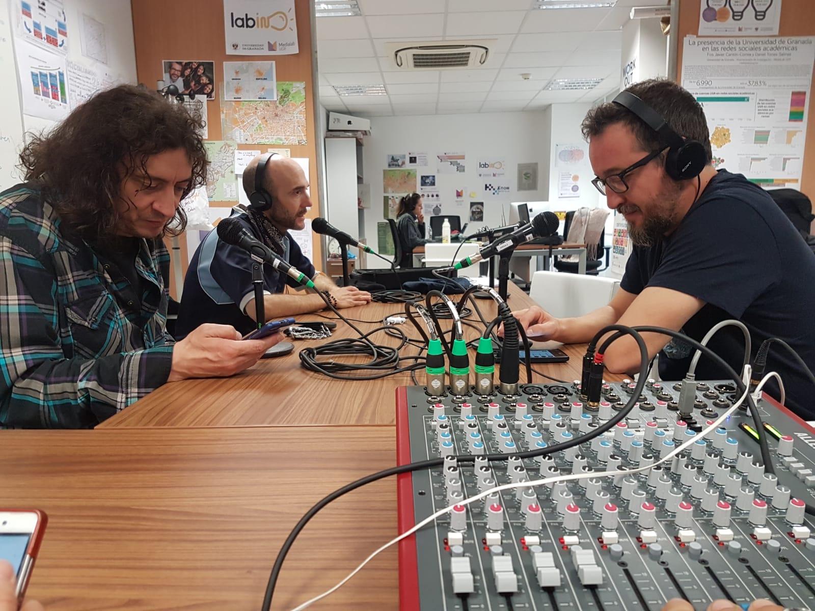 Radiolab UGR: una nueva entrega de Ficción Sonora y los 300 en el Amply