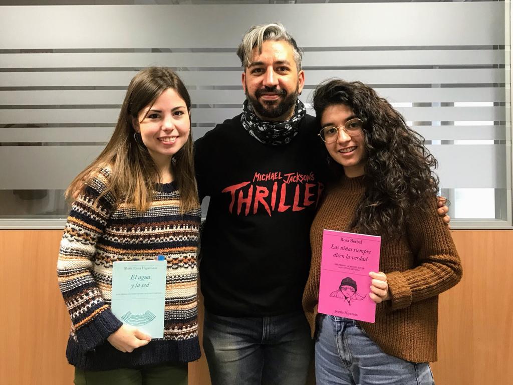 Co3.9. Jóvenes poetas de la Ugr, con Rosa Berbel y María Elena Higueruelo