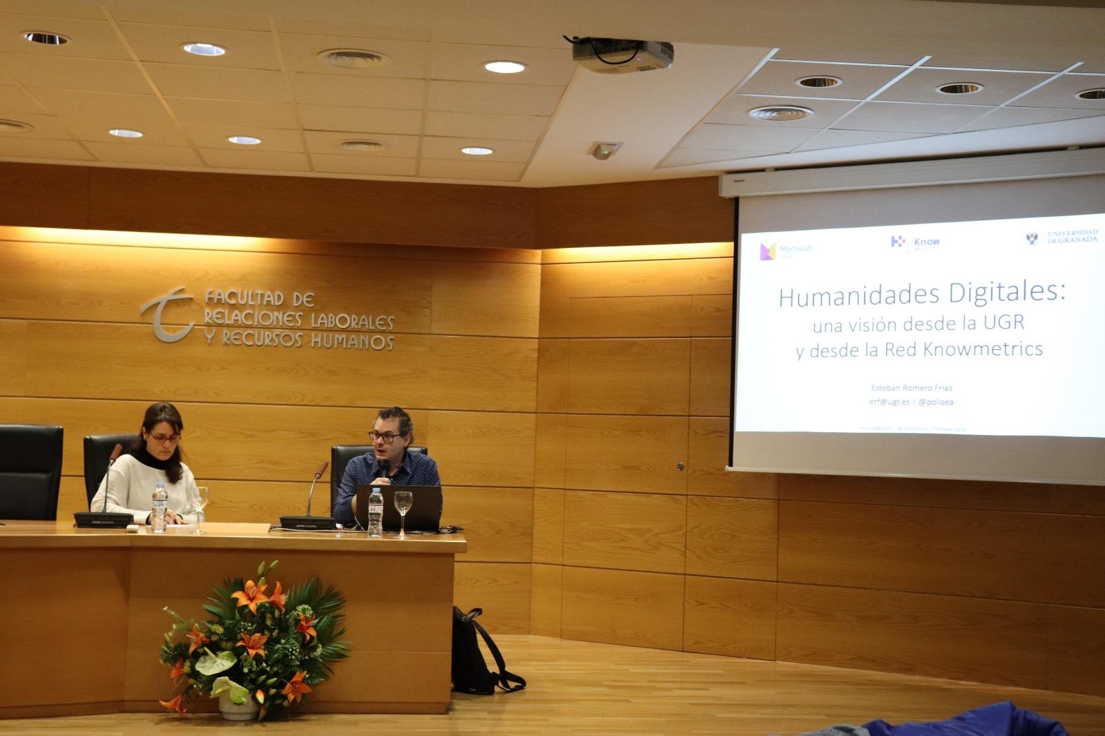 Jornada en la Universidad de Granada: el futuro de la investigación en ciencias sociales y humanidades pasa por incorporar lo digital