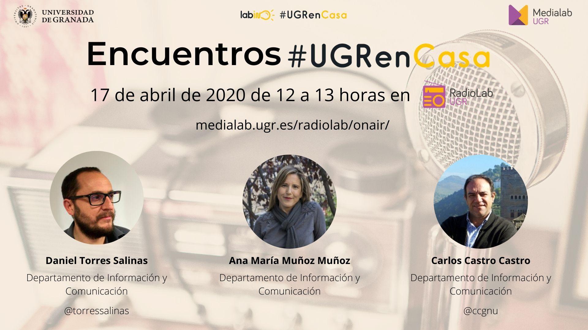 Encuentros RadioLab: #UGRenCasa 05