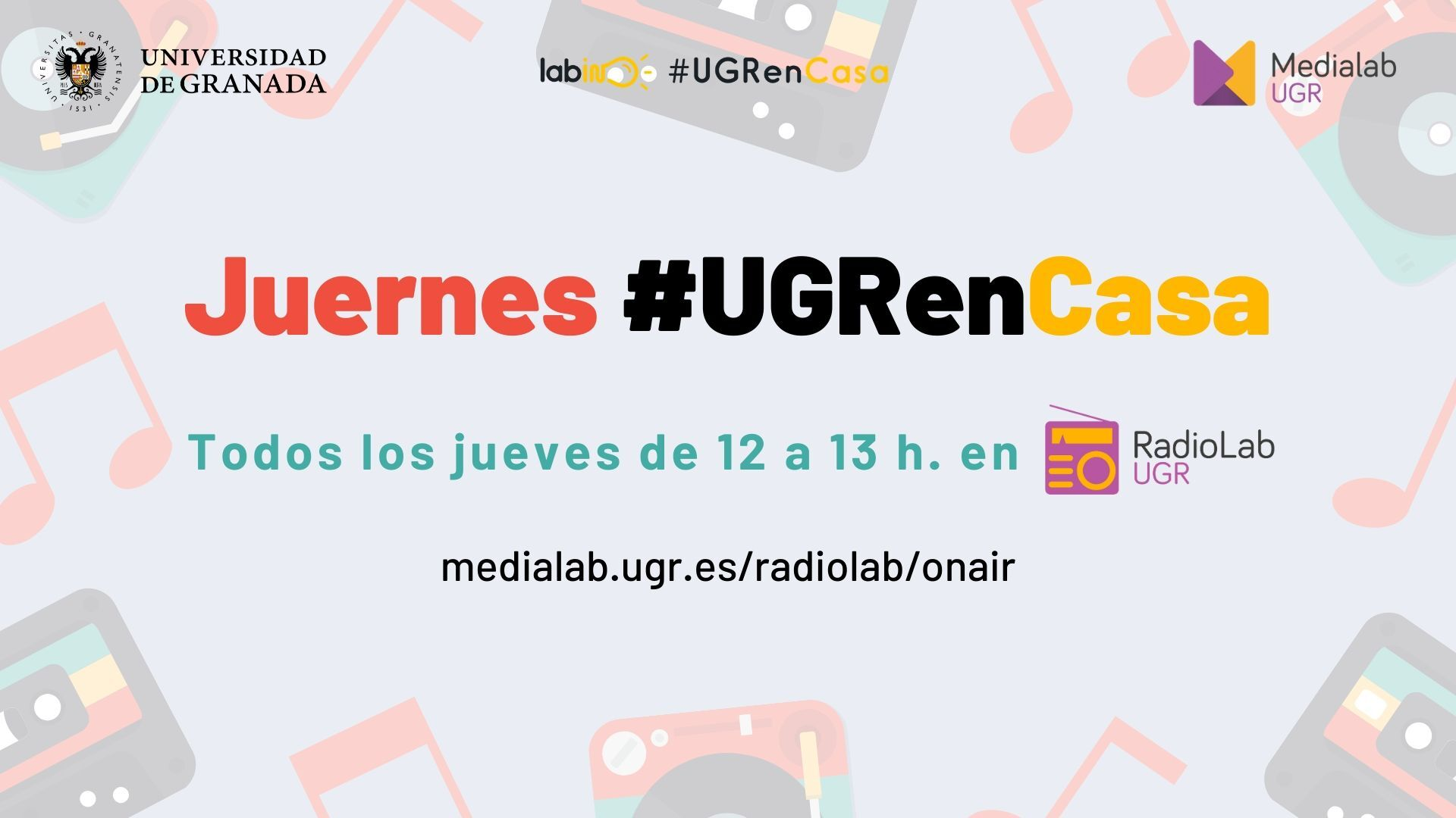 Juernes #UGRenCasa 01 – Universidad, sociedad y futuros