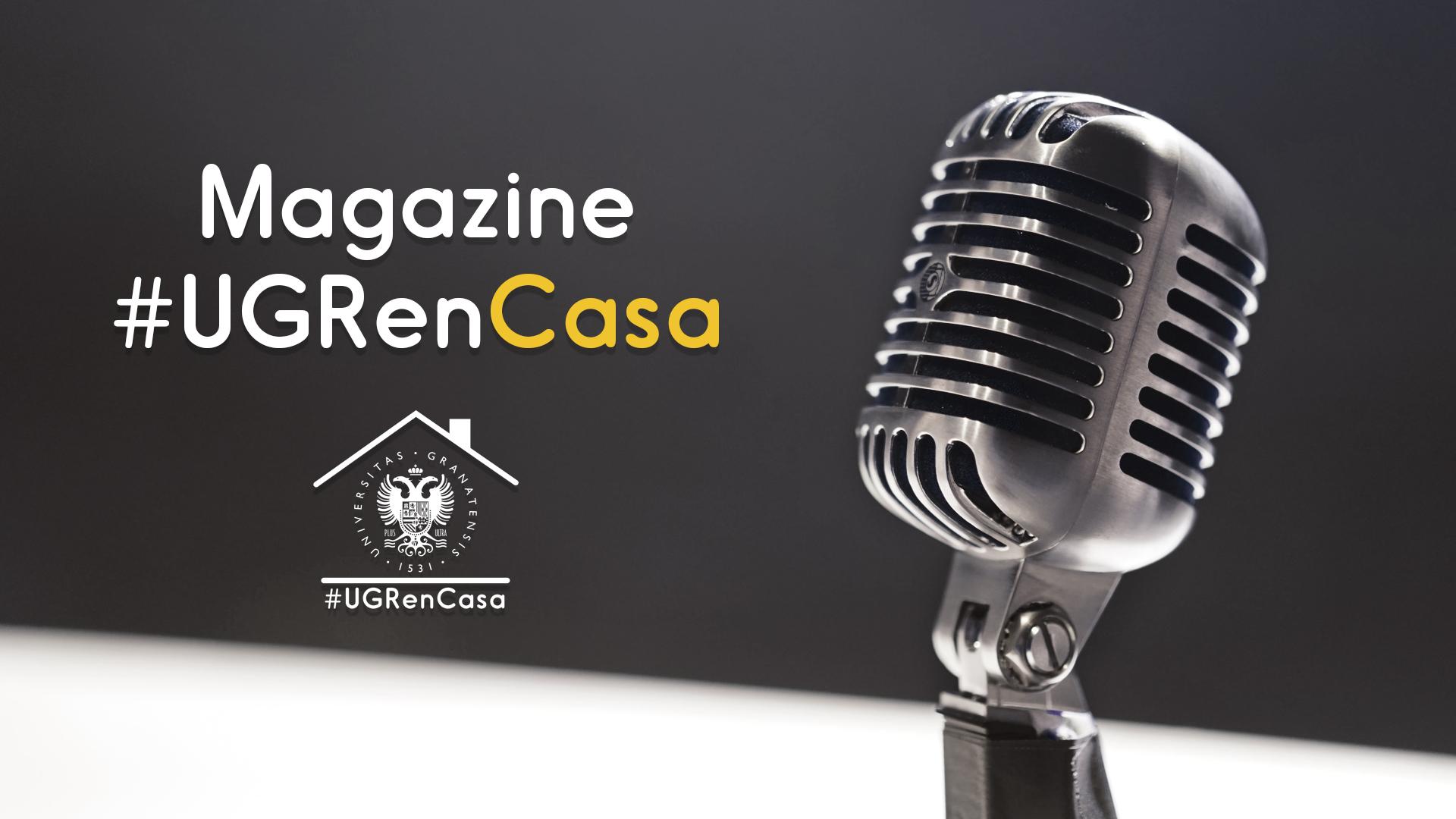 Magazine #UGRenCasa 02 – Educación, webs y sorpresas