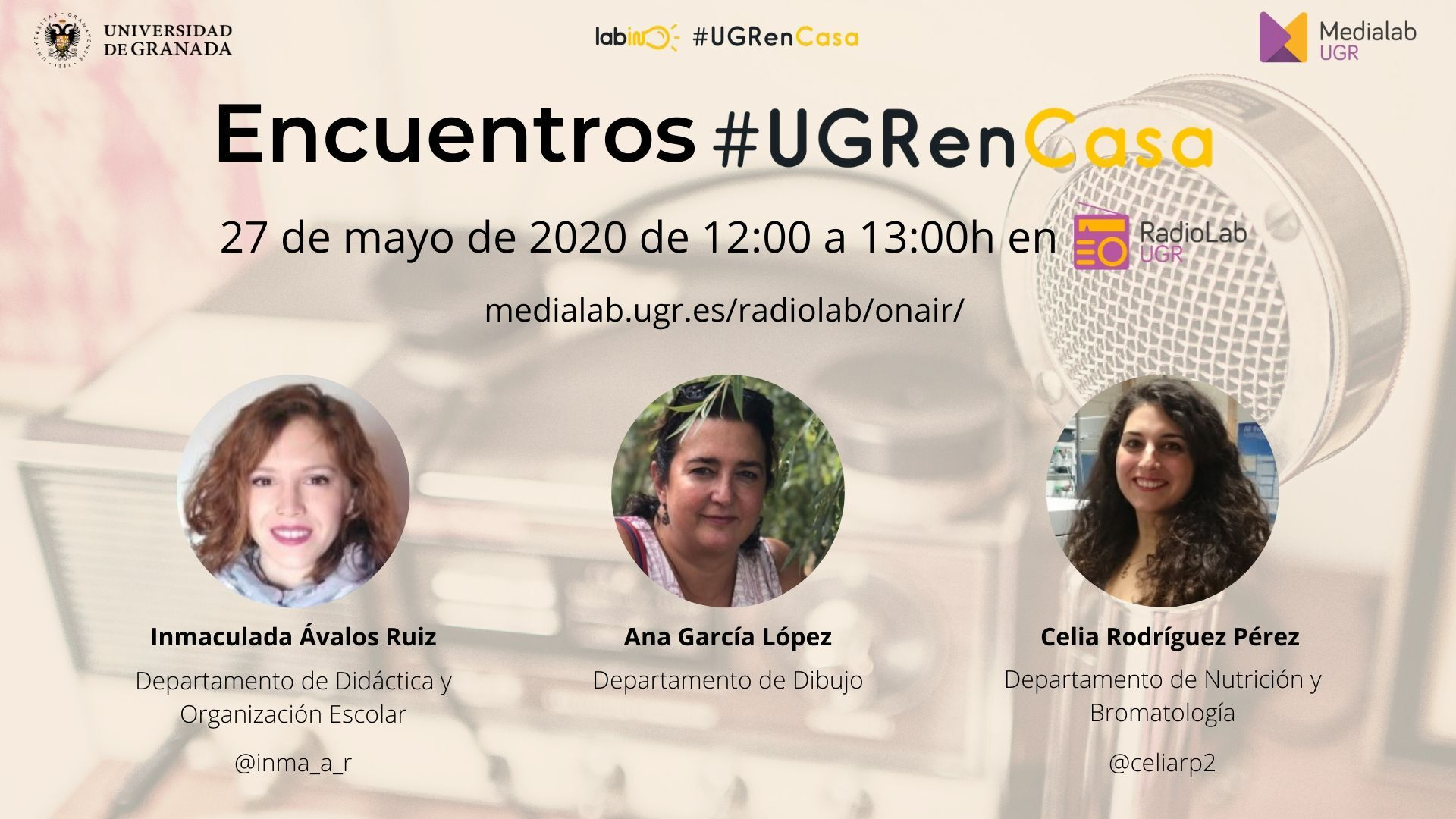 Encuentros Radiolab: #UGRenCasa 11