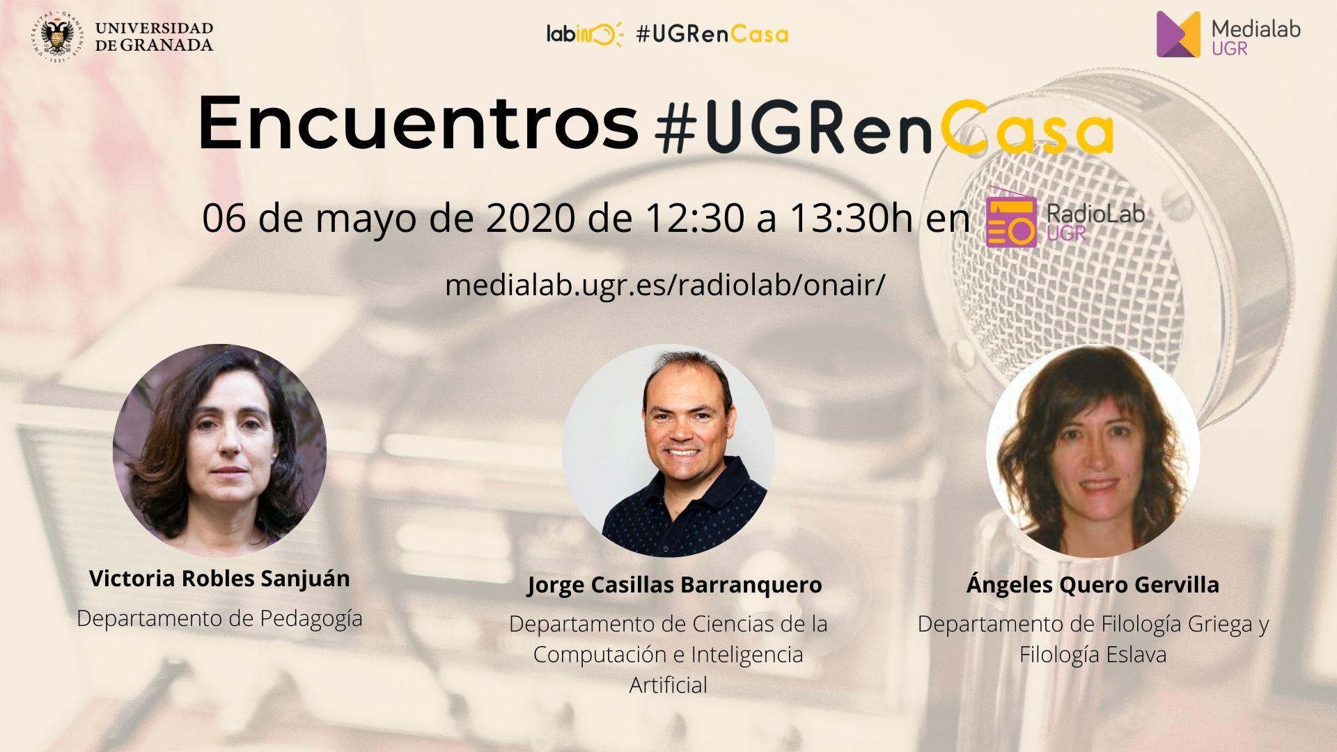 Encuentros Radiolab: #UGRenCasa 09