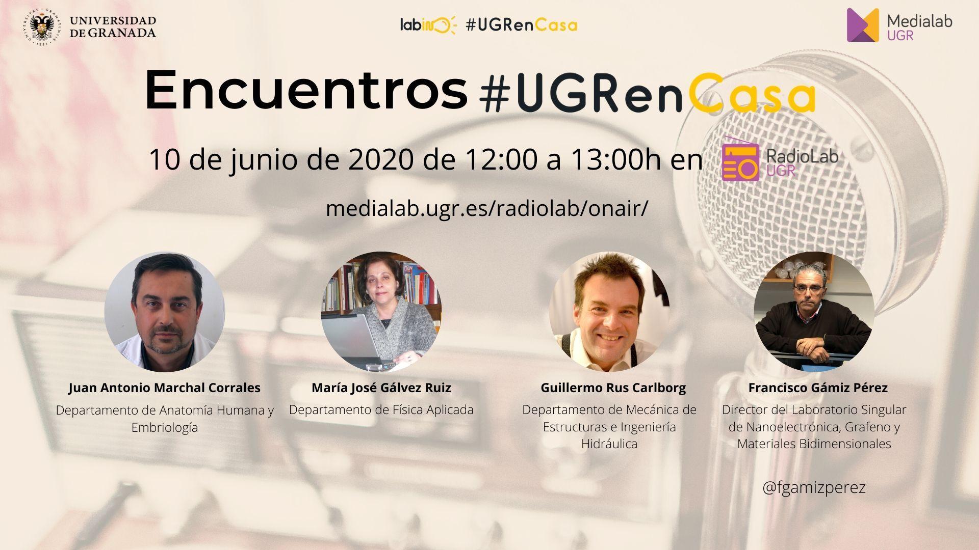 Encuentros Radiolab: #UGREnCasa 12