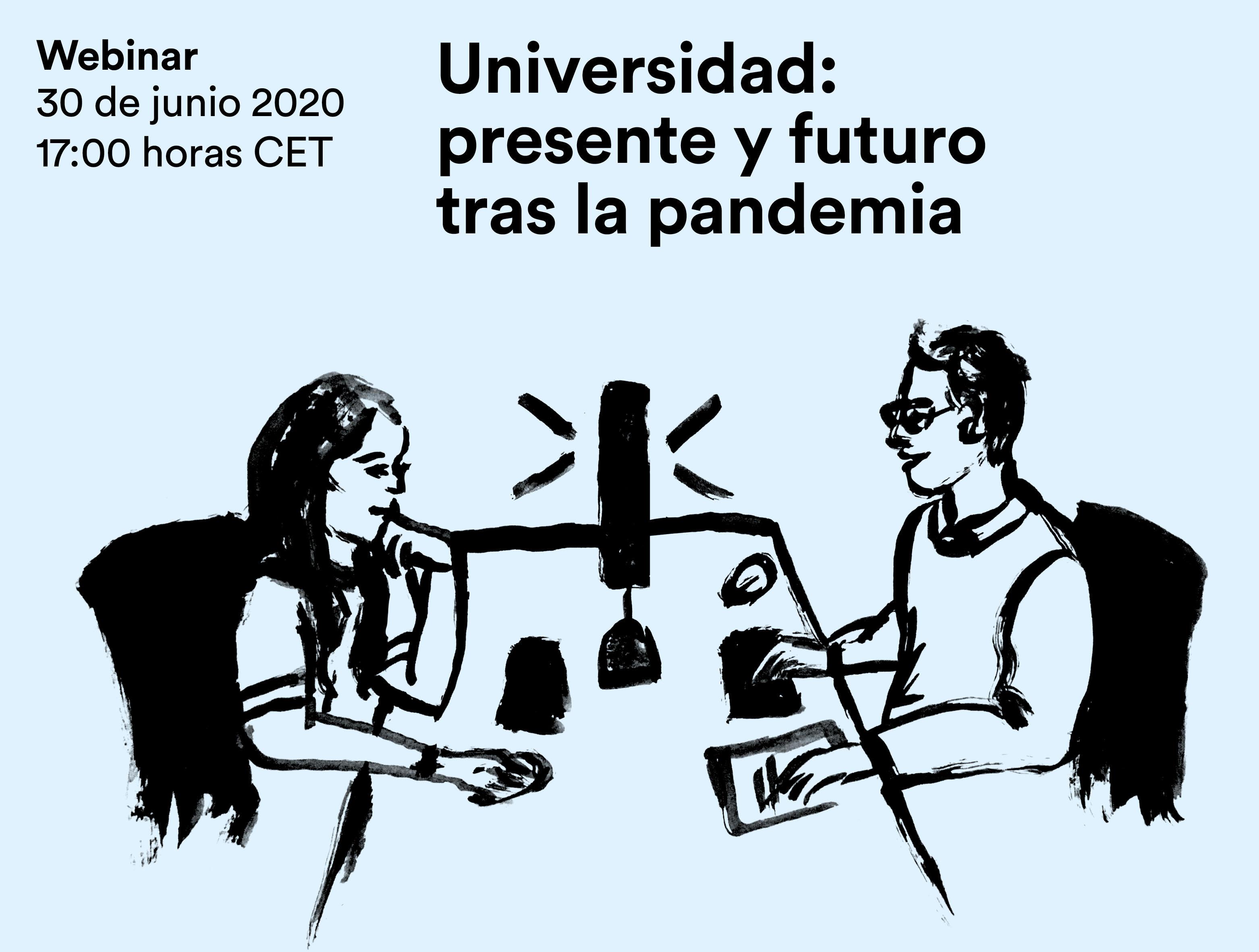 Webinar sobre el presente y futuro de la Universidad
