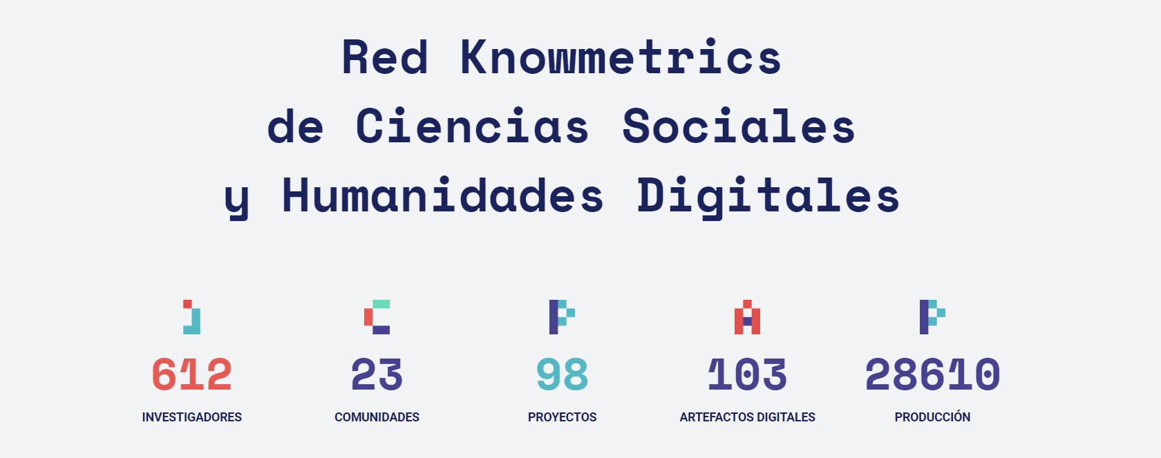 La red Knowmetrics, base de la próxima red social para investigadores de la UGR, recibe una mención especial en los Premios HDH 2020