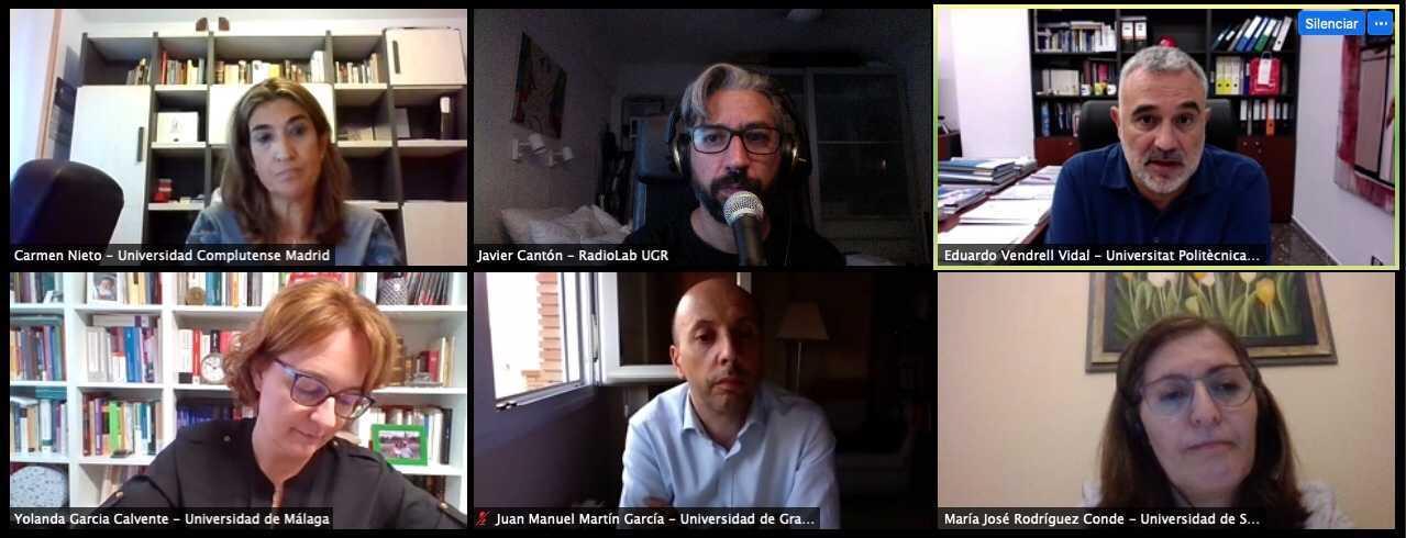Diálogo Facultad Cero con Vicerrectores y Vicerrectoras sobre el inicio de curso