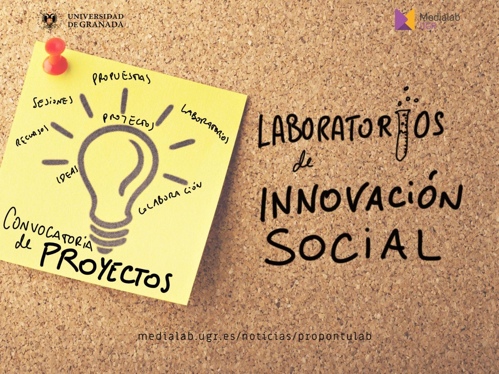 Abierta la convocatoria de proyectos de los Laboratorios de Innovación Social