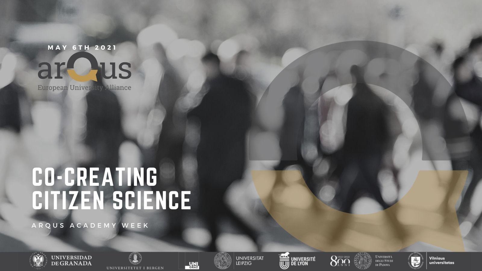 Co-creating Citizen Science: ¿Estás liderando o participando en una iniciativa de ciencia ciudadana?