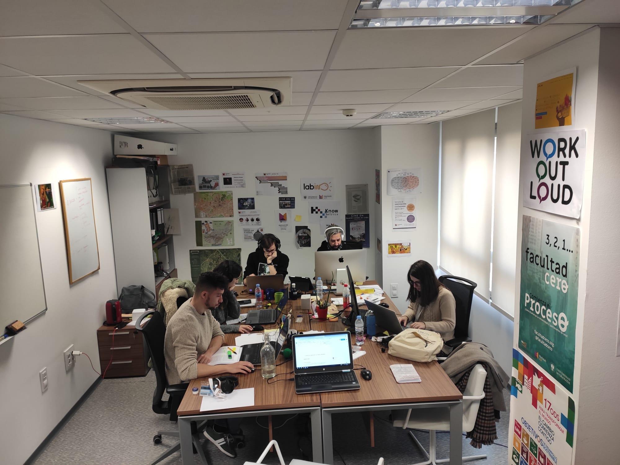 El equipo Medialab UGR en constante cambio