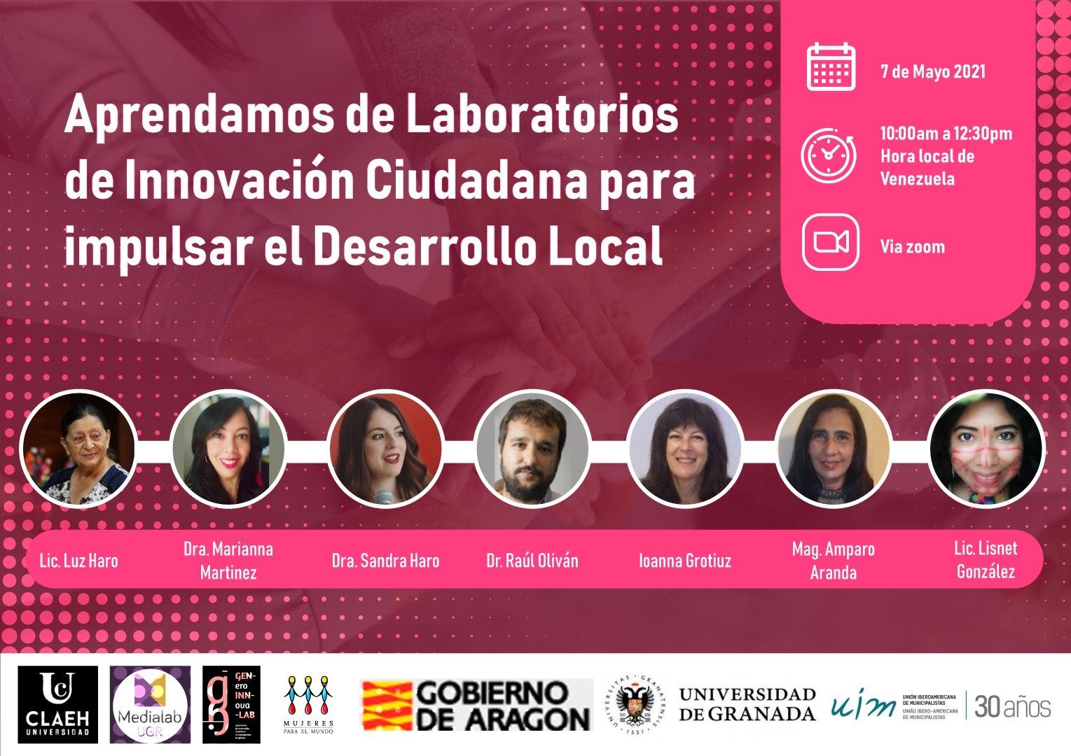 Aprendamos de Laboratorios de Innovación Ciudadana para impulsar el Desarrollo Local