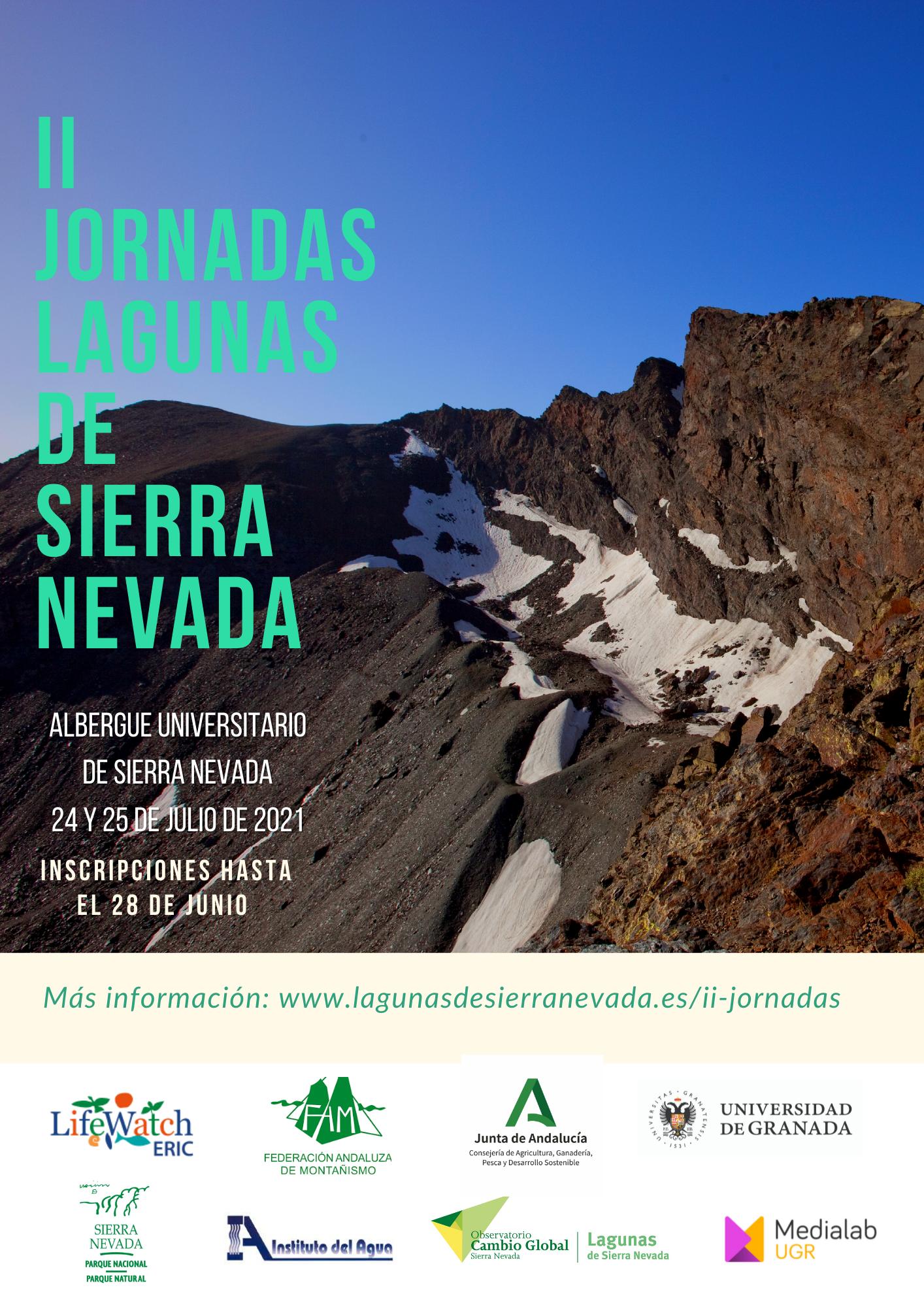 II jornadas lagunas de Sierra Nevada