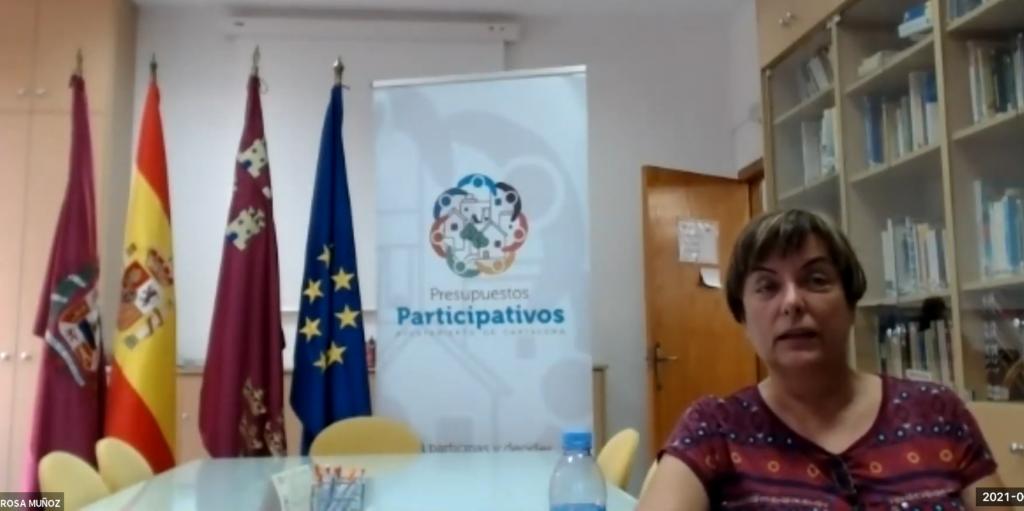 rosa muñoz cartagena presupuestos participativos